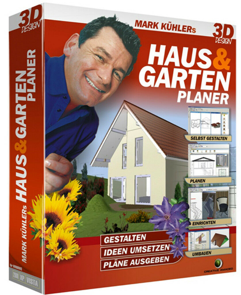 mark k hler haus garten planer 3d design software neu. Black Bedroom Furniture Sets. Home Design Ideas