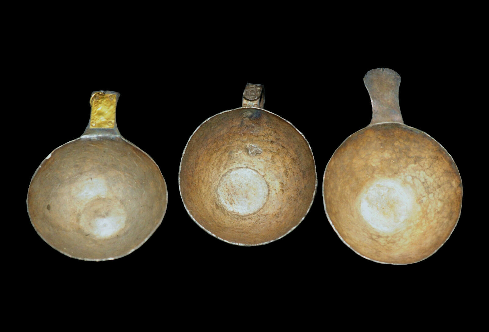 Aphrodite- Exceptional  Ancient Trove Of Two Ladles & Cup Of A Roman Emperor