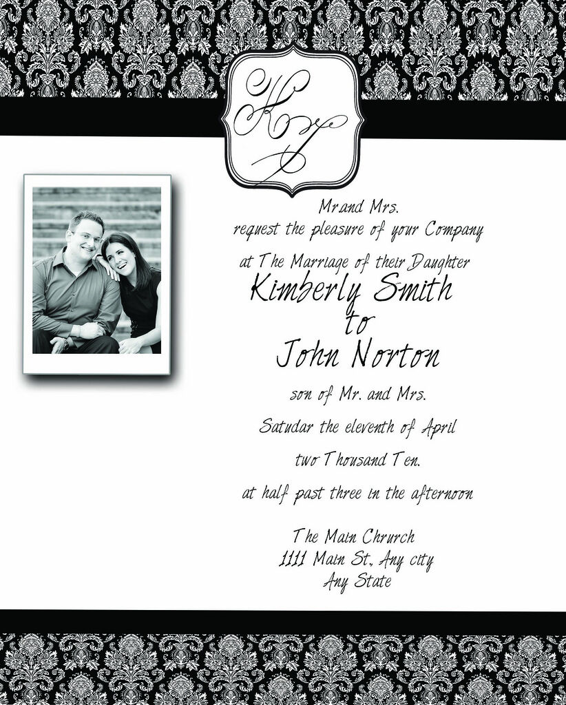 Photoshop Templates PSD for Wedding Invitation Vol. 2