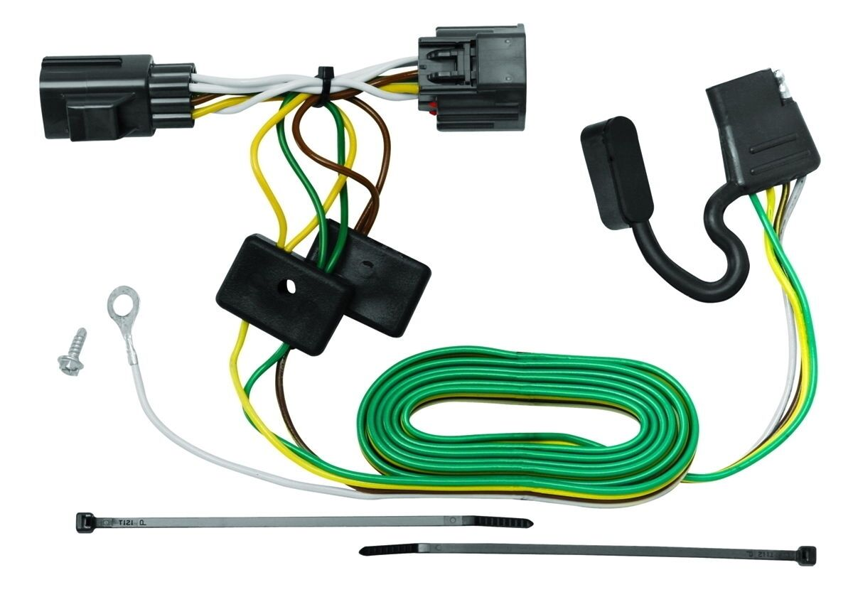 Tekonsha 118416 Trailer Tow Hitch Wiring Kit Fits 2007 2017 Jeep 1 Of See More
