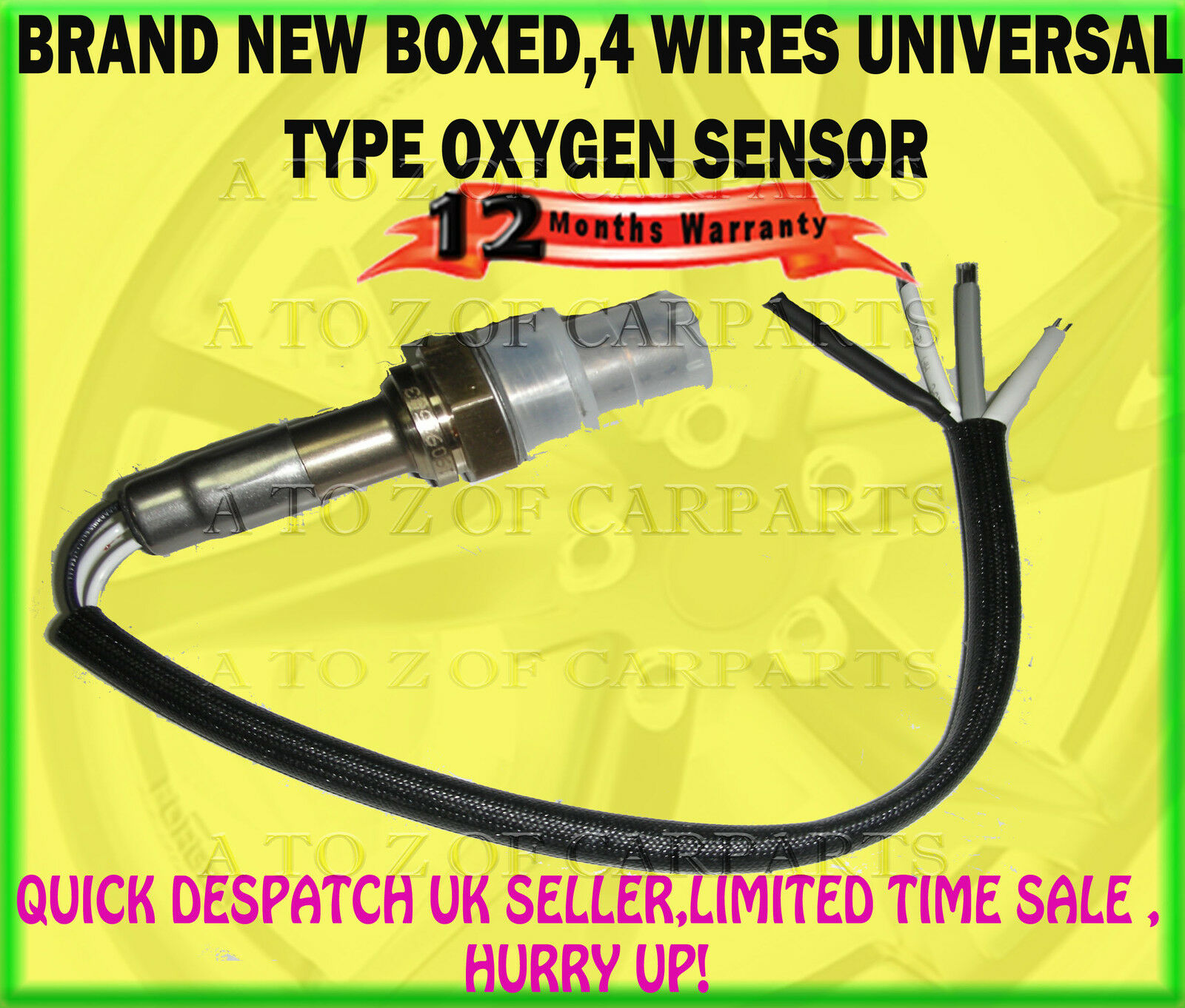 For Honda Accord Civic Crv Crx Hrv Integra Jazz Legend O2 Oxygen 2005 Wiring 1 Of 1only 0 Available