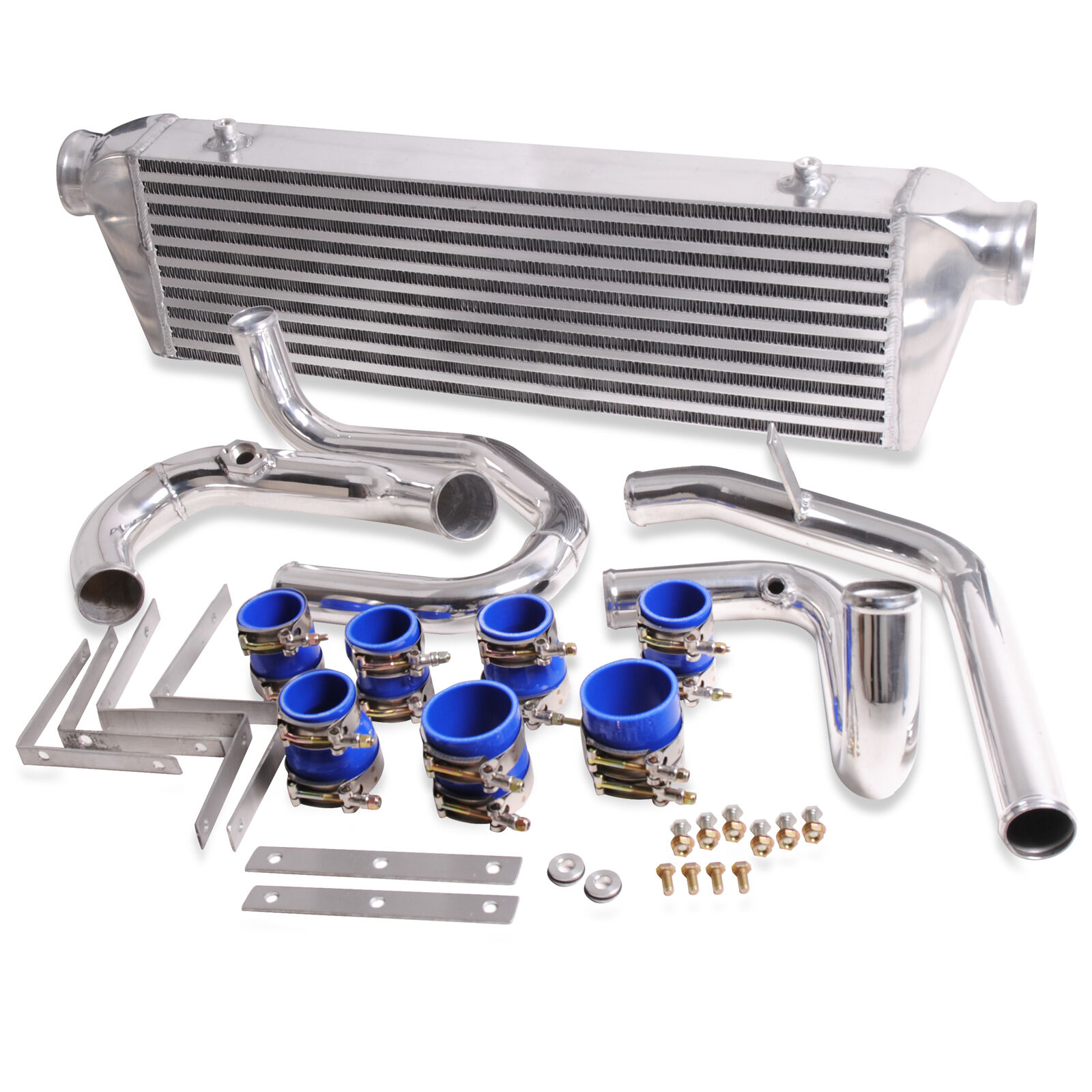 alloy turbo front mount intercooler kit fmic for vw golf mk4 bora jetta 1 8t gti. Black Bedroom Furniture Sets. Home Design Ideas