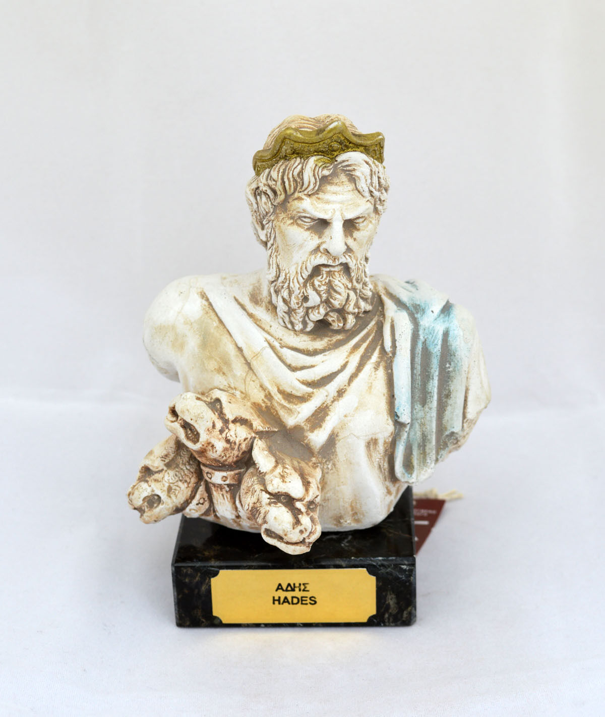Hades Ancient Greek God King of the Underworld sculpture ...
