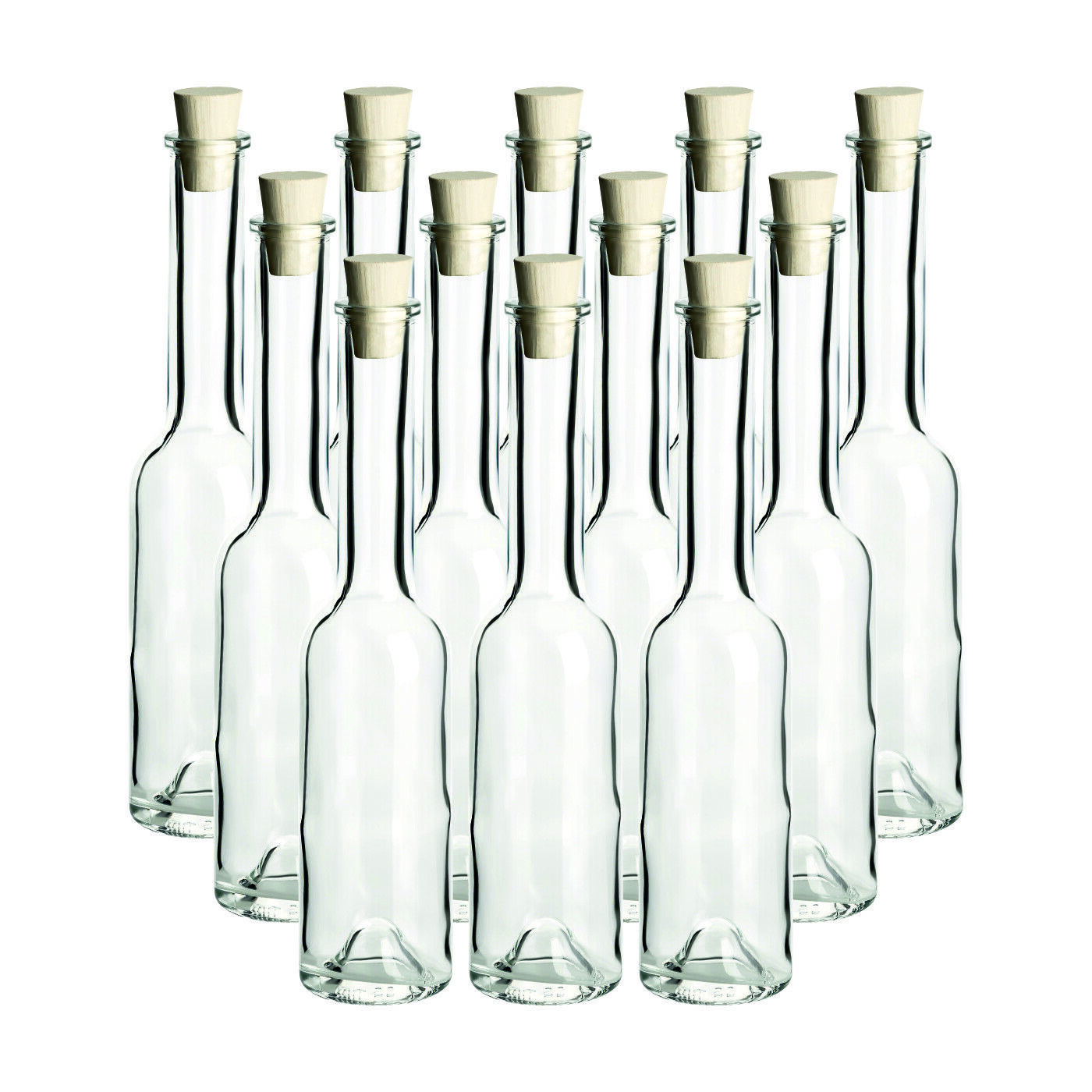 200 ml edle leere glasflaschen schnapsflasche lik r flasche 0 2 l fabrikneu eur 7 95. Black Bedroom Furniture Sets. Home Design Ideas