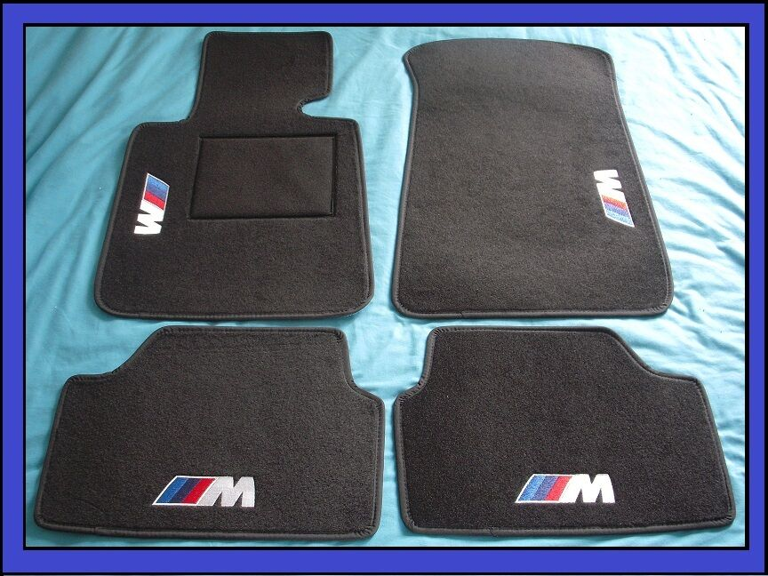 tapis qualit bmw s rie 1 e87 pack m depuis 2004 sur mesures vrai logo brod eur 109 99. Black Bedroom Furniture Sets. Home Design Ideas