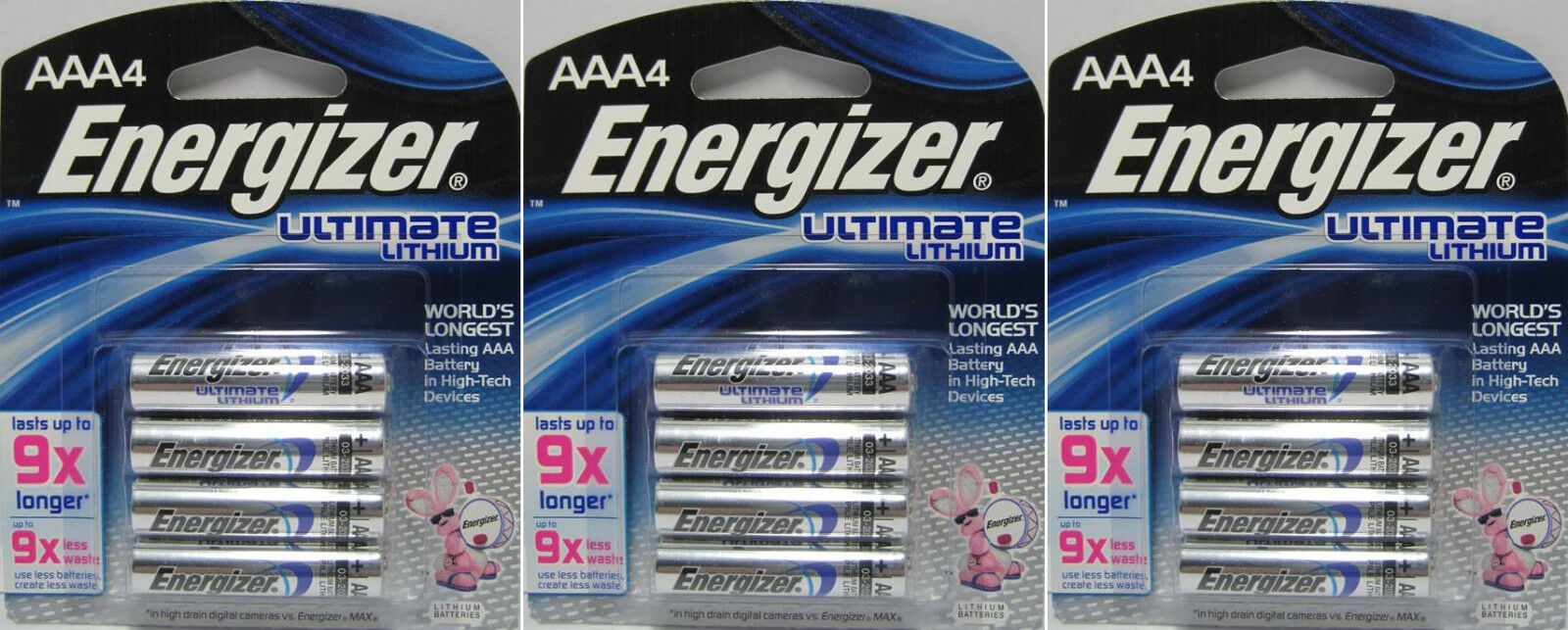 12 Energizer L92 Ultimate Lithium Aaa Batteries Exp 2037 1799 E92 Bp 4 1 Of 1free Shipping
