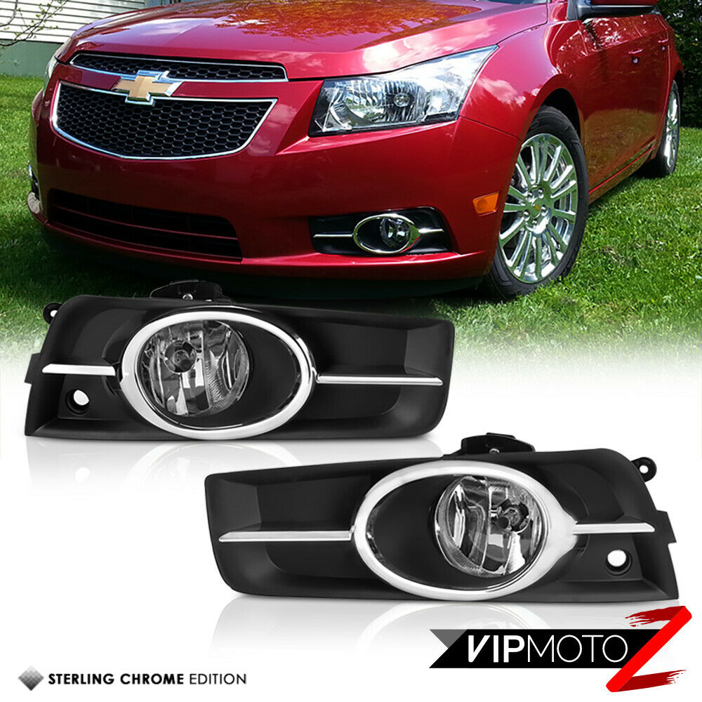 2012 Chevy Cruze Fog L Wiring Harness Electrical Diagram Engine 2011 2014 Chrome Front Bumper Driving Lights Lamp Timing Belt