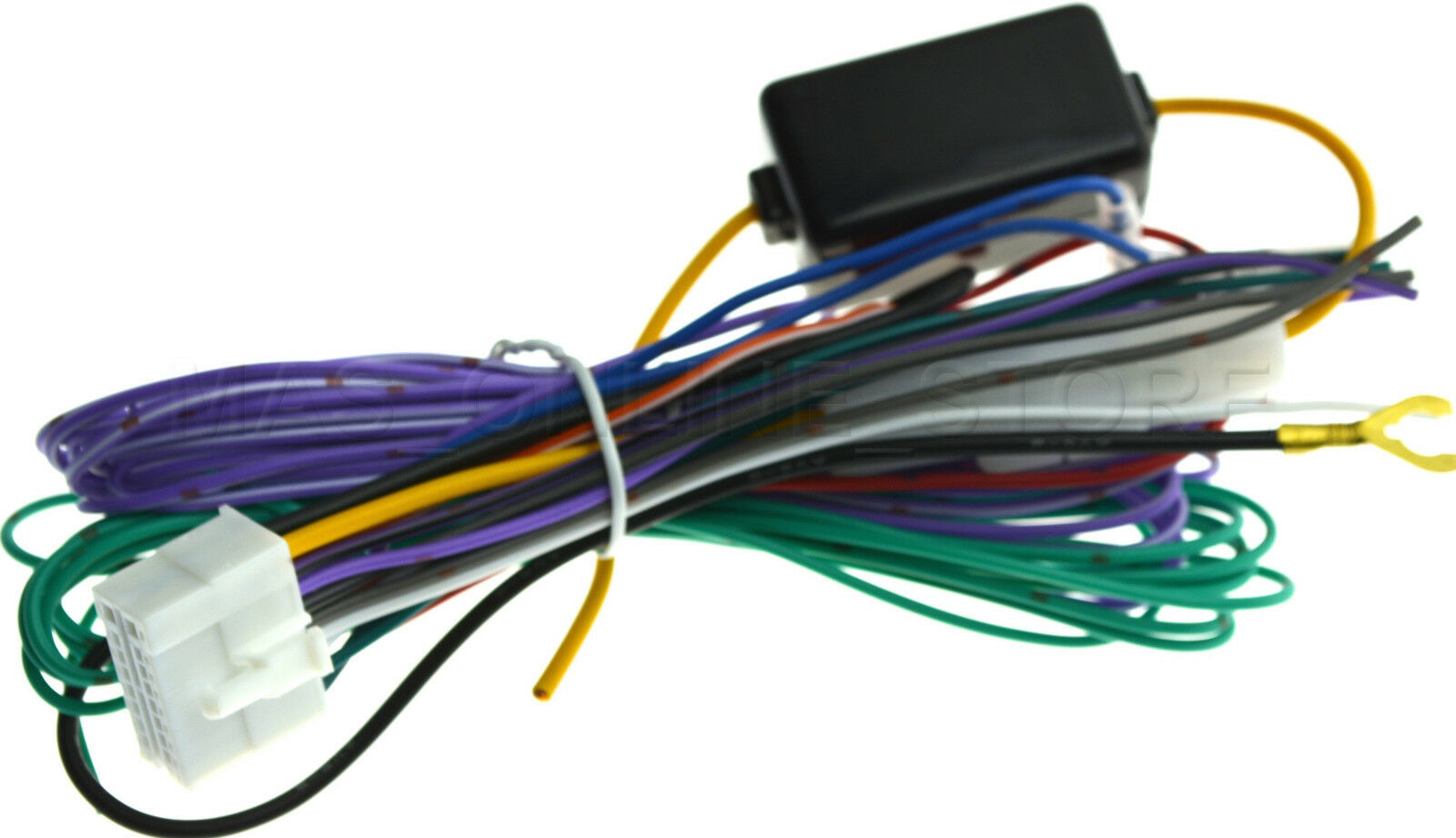 Wire Harness Clarion Vx409 Wiring Library Electrical Vx401 Vx 401 Genuine Pay Today Ships 1 Of
