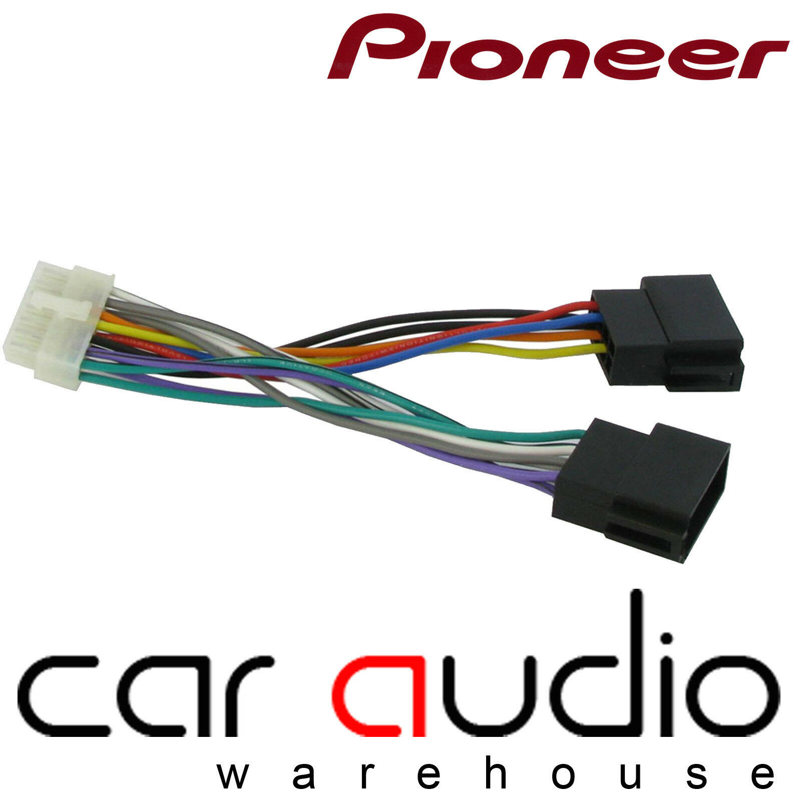 Pioneer 14 Pin Iso Head Unit Replacement Car Stereo Wiring Harness Midland Ct21pn02
