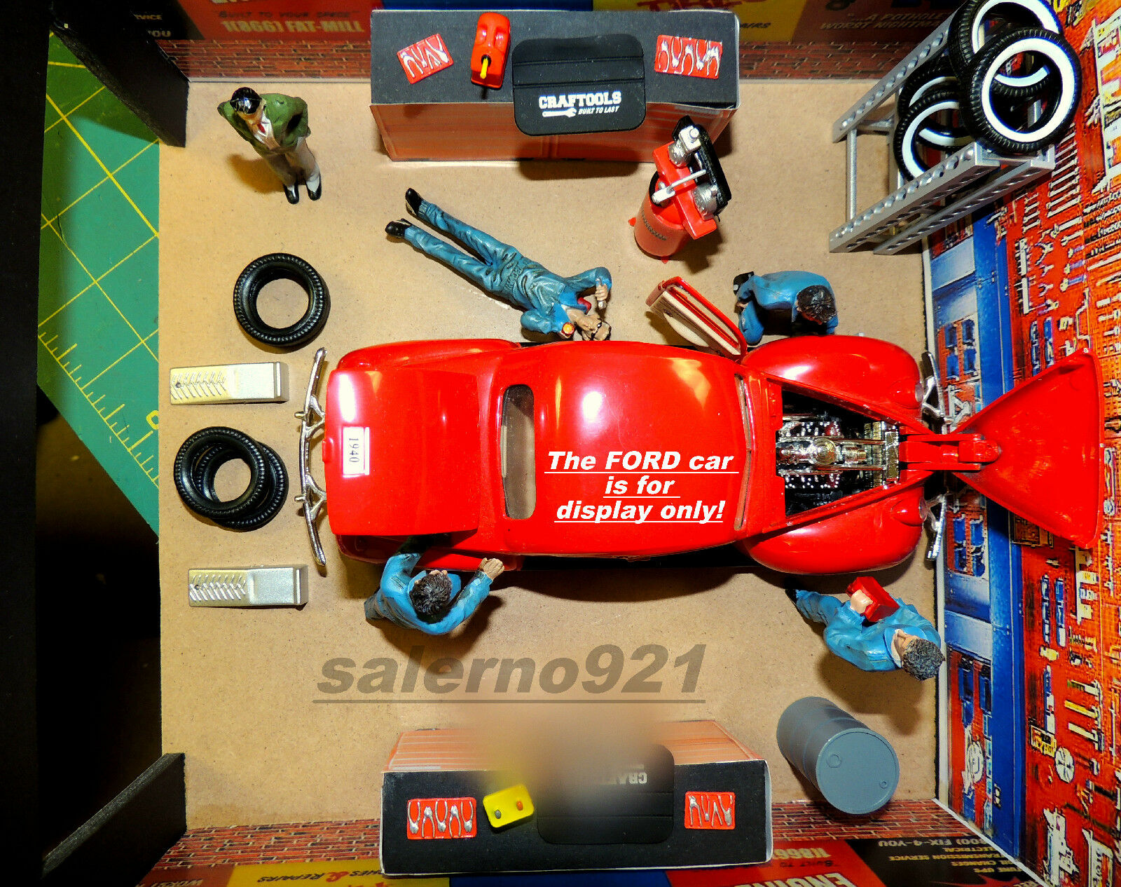 Complete custom built two car garage kit with accessories for Custom 2 car garage