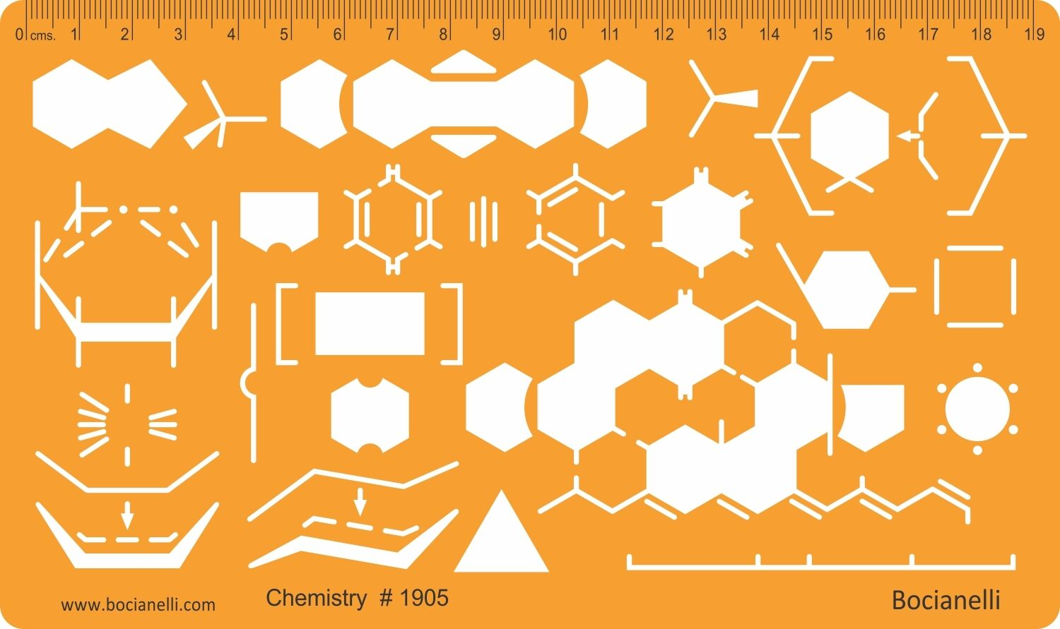 Chemistry Lab Chemical Engineering Symbols Drawing Drafting Template