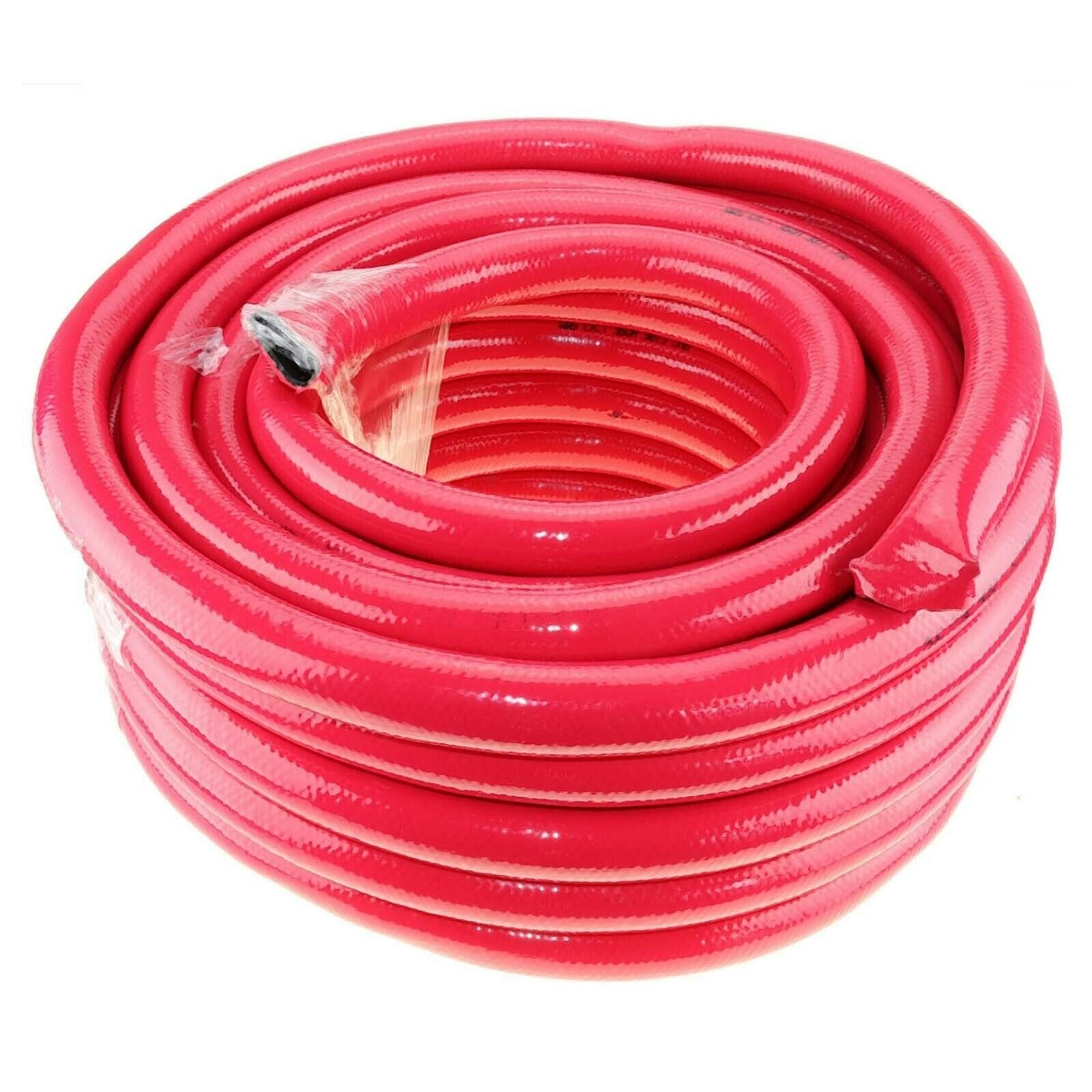 """20m x 1"""" 25mm ID Fire Rated Outlet Hose for Fire Fighter Fighting Water Pump"""