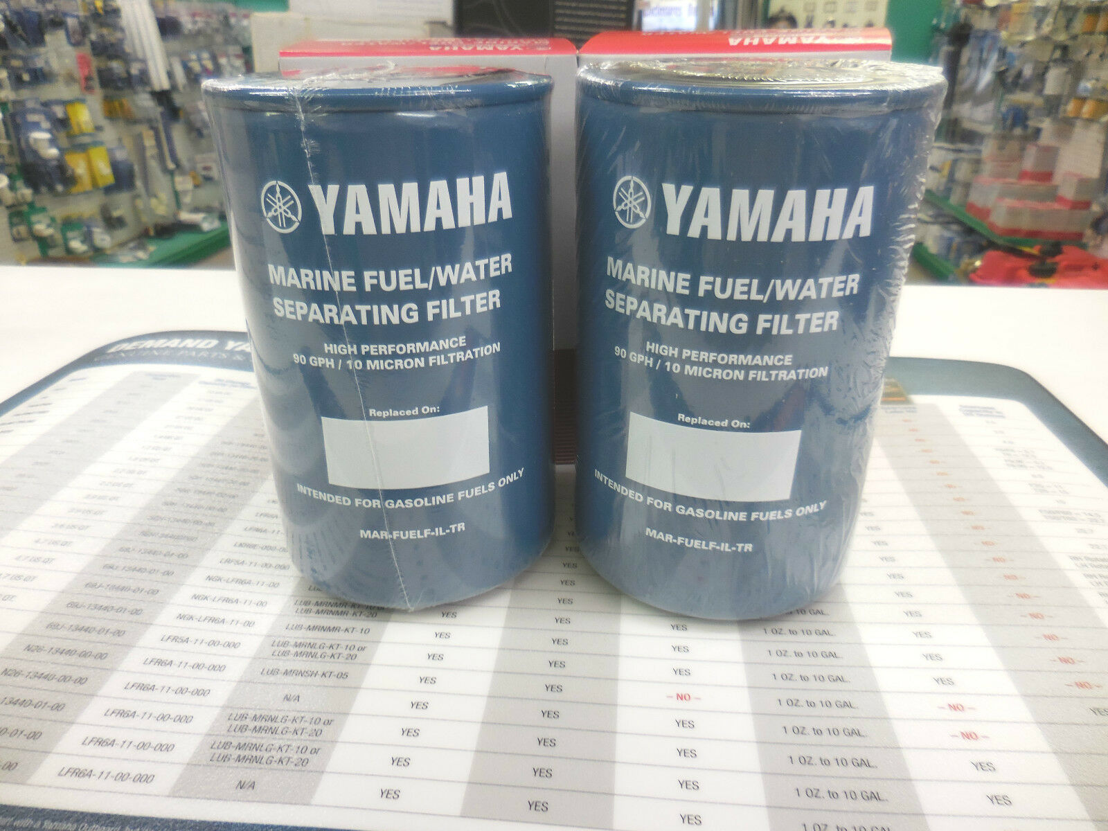 Yamaha Outboard Mar Fuelf Il Tr 10 Micron Fuel Water Separating Filter 90gph