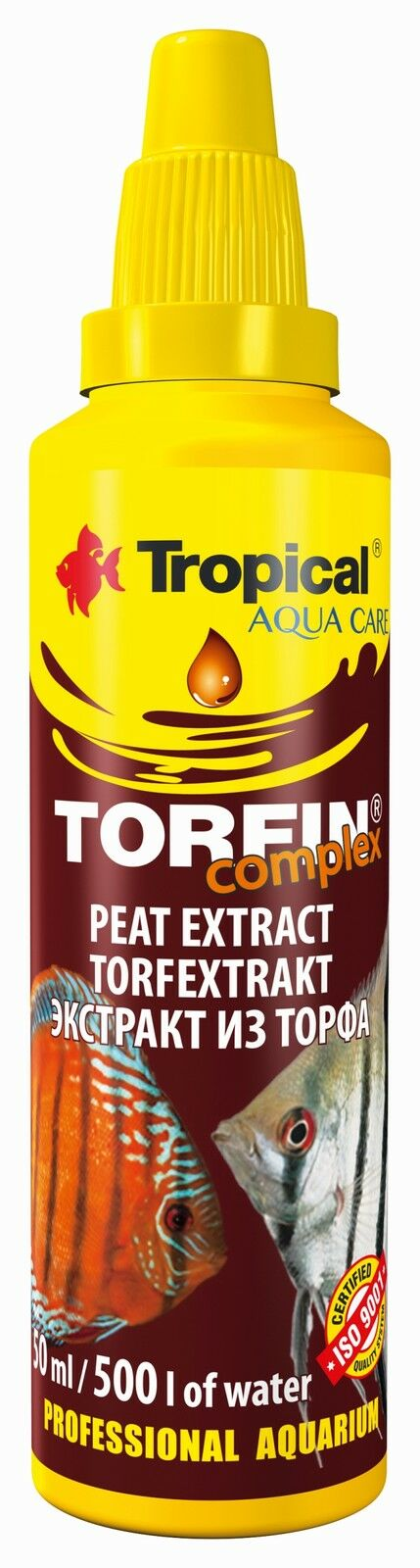 Tropical Torfin For Preparing Treatment Black Water  In Aquarium Fish Tank