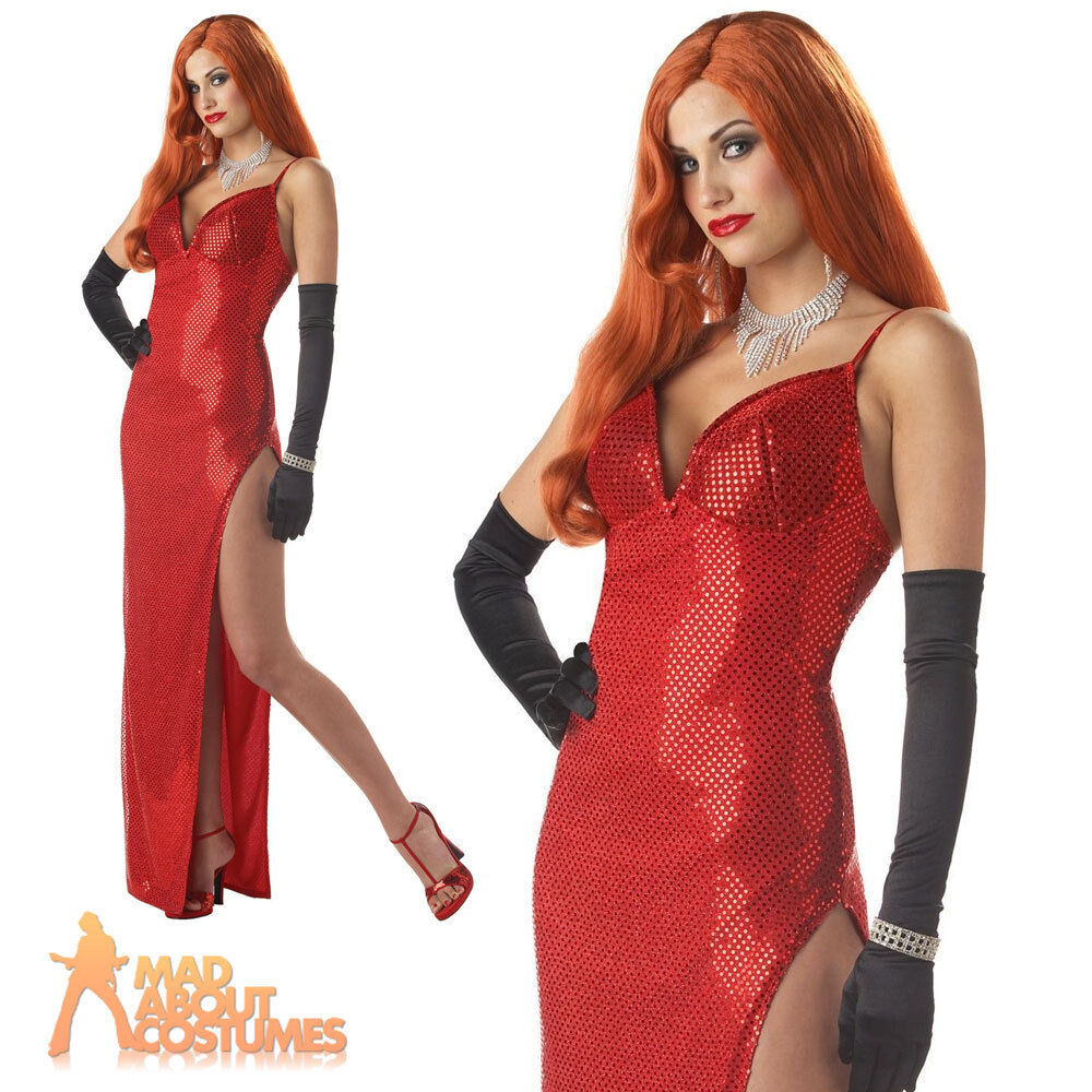 Jessica Rabbit Costume 1920s Silver Screen Sinsation Roger Rabbit Fancy Dress 1 of 1FREE Shipping ...  sc 1 st  PicClick UK & JESSICA RABBIT COSTUME 1920s Silver Screen Sinsation Roger Rabbit ...