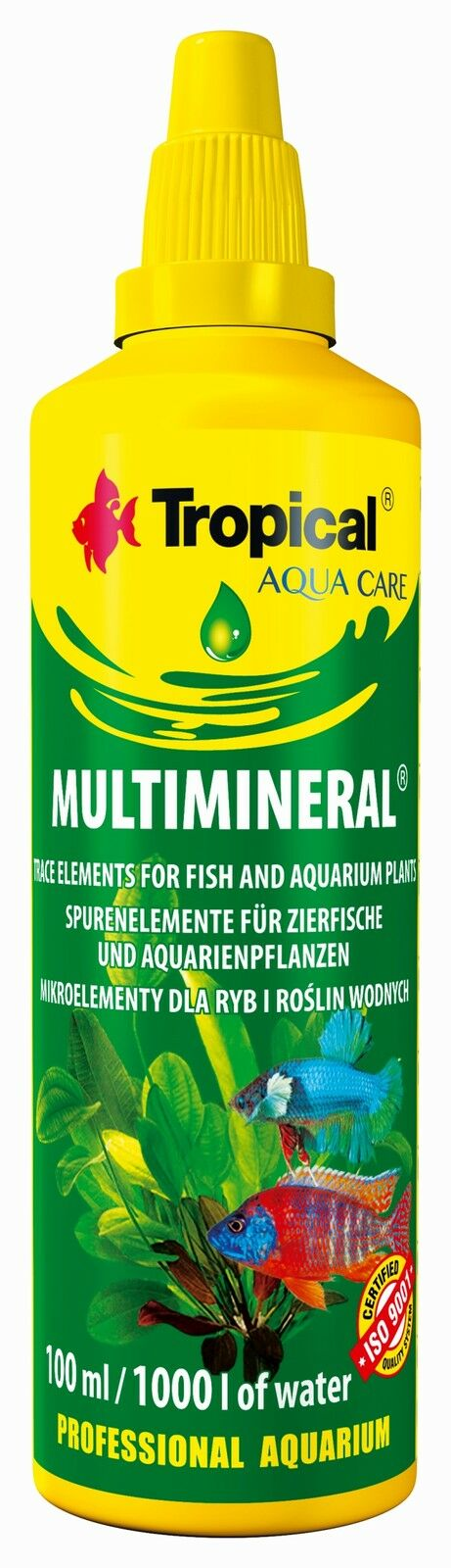 Mineral Supplement Micro Elements For Tropical Aquarium Fish Tank Aquatic Plants