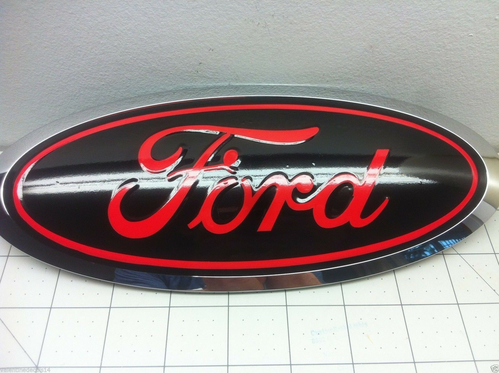 Ford F150 2015 2016 2017 2018 Front And Rear Oval Emblem