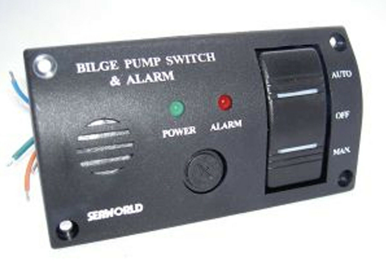 High Water Bilge Alarm Wiring Diagram Library Rule Pump Float Switch And Panel Marine Boat Seaworld 12v Illuminated 10 10709 1 Of