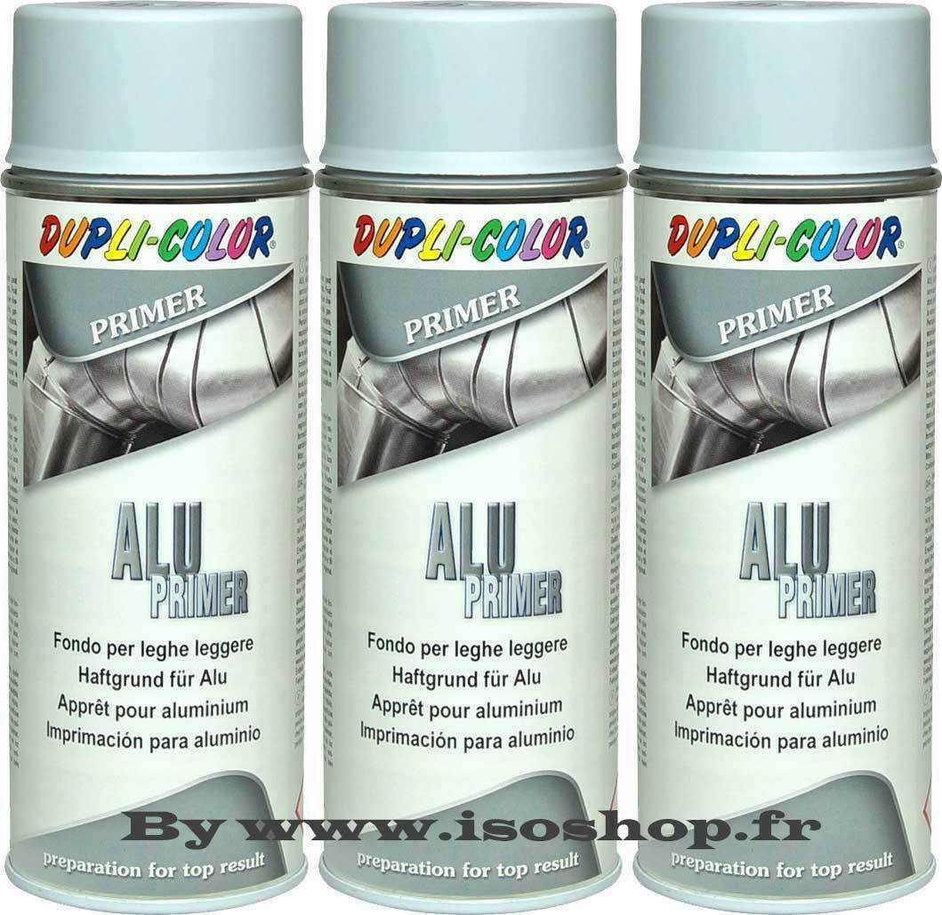 dupli color a rosol de peinture primaire appr t pour aluminium spray 3x400 ml eur 19 70. Black Bedroom Furniture Sets. Home Design Ideas