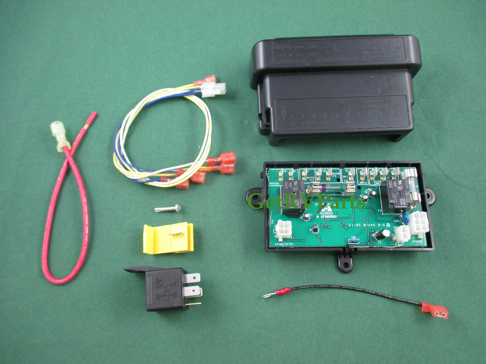 Dometic 3308742000 Rv Refrigerator Pcb Module Control Circuit 3 Way 1 Of 2only Available
