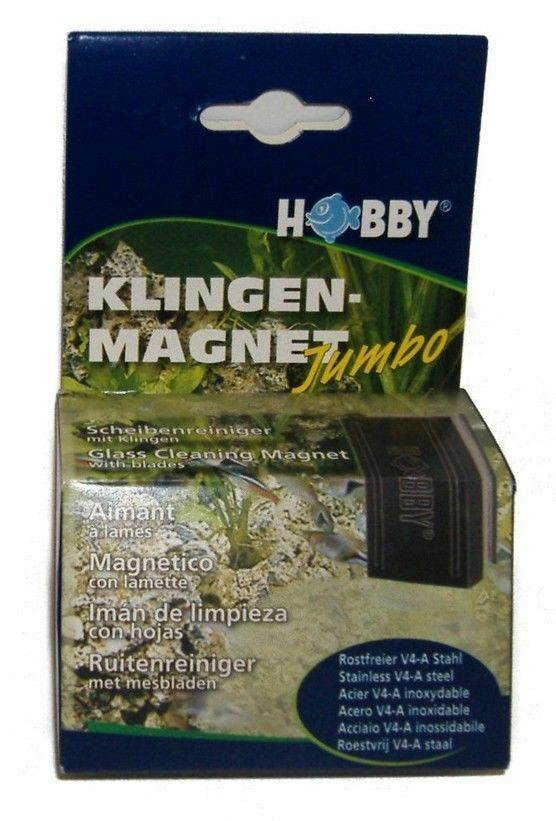 JUMBO ALGAE CLEANING MAGNET (with blades)