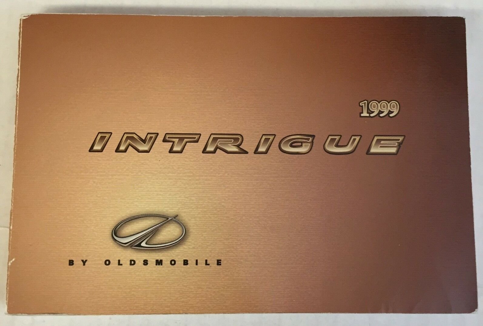 1999 Oldsmobile Intrigue Owner's Manual 1 of 1Only 1 available ...