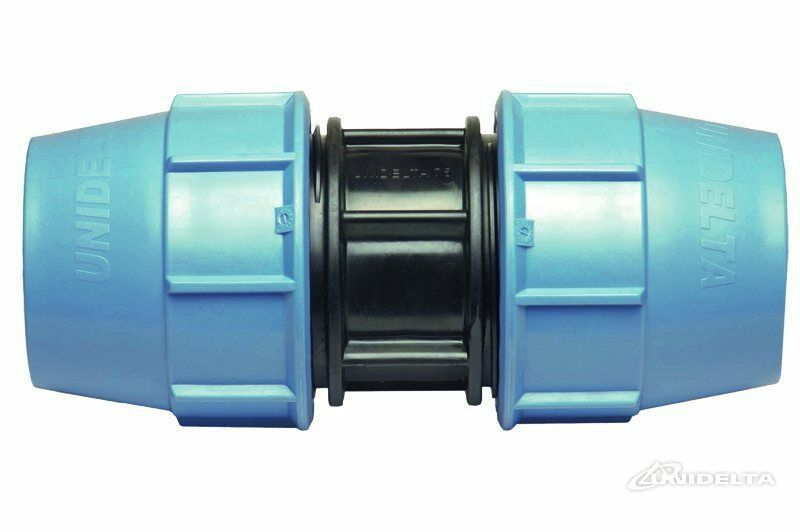 Water / PE / Alkathene / MDPE Compression Pipe Fittings Coupling