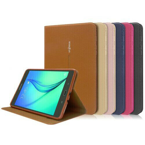 Smart Folio Leather Case Cover For Samsung Galaxy Tab A S2 80 Flip Book 2017 8 Inch Sm T385 1 Of 1free Shipping