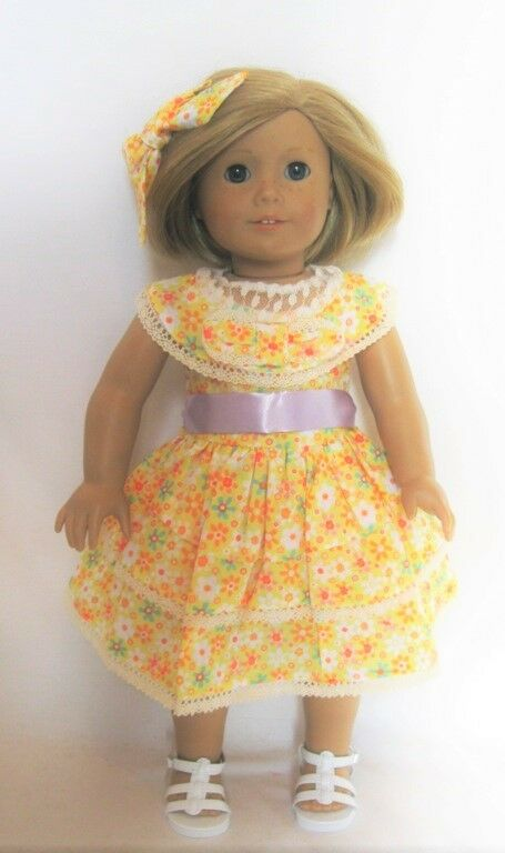 Doll clothes ag 18 quot dress kits summer dress made to fit american girl