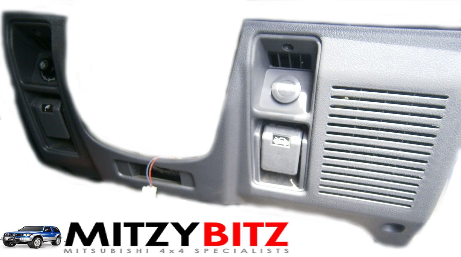 Mitsubishi Pajero Shogun Mk2 91 99 Lower Grey Dash Panel Cover Trim Montero Fuse Box Only 1 Of 1only 5 Available