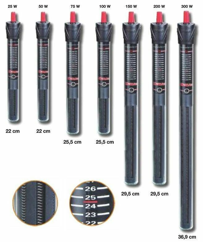 AQUARIUM HEATERS Professional standards in a low cost heater