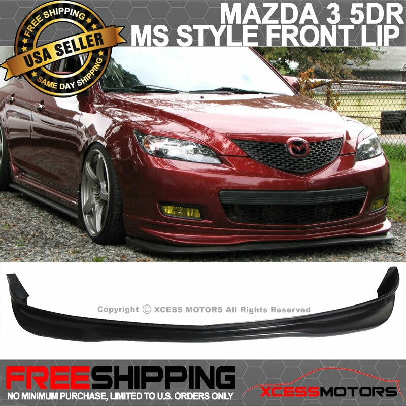 Fit 07 09 mazda 3 mazda3 ms 5dr jdm hatch poly urethane front bumper mazda3 ms 5dr jdm hatch poly urethane front bumper lip 1 of 4free shipping see more publicscrutiny Images