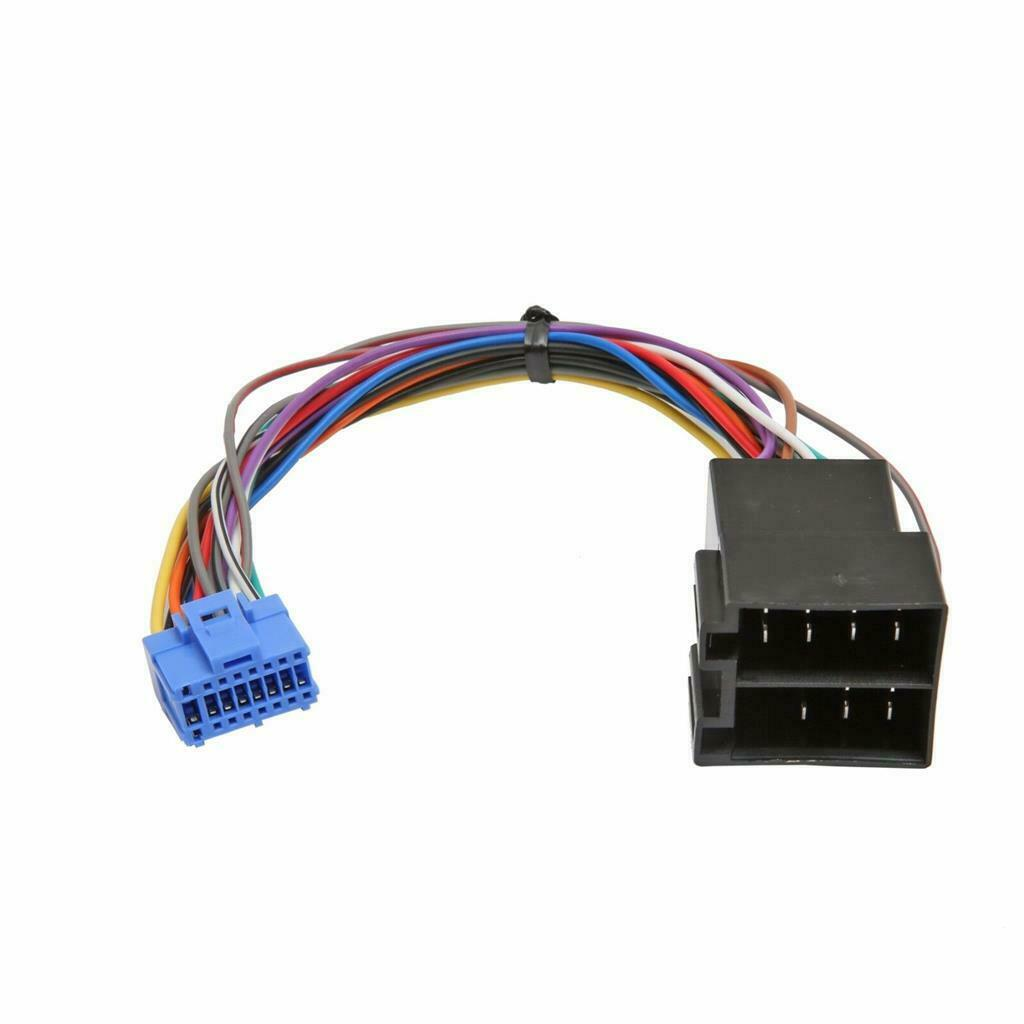 Pioneer Car Stereo Radio Iso Wiring Harness Connector Adaptor Cable Pi 102 1 Of See More