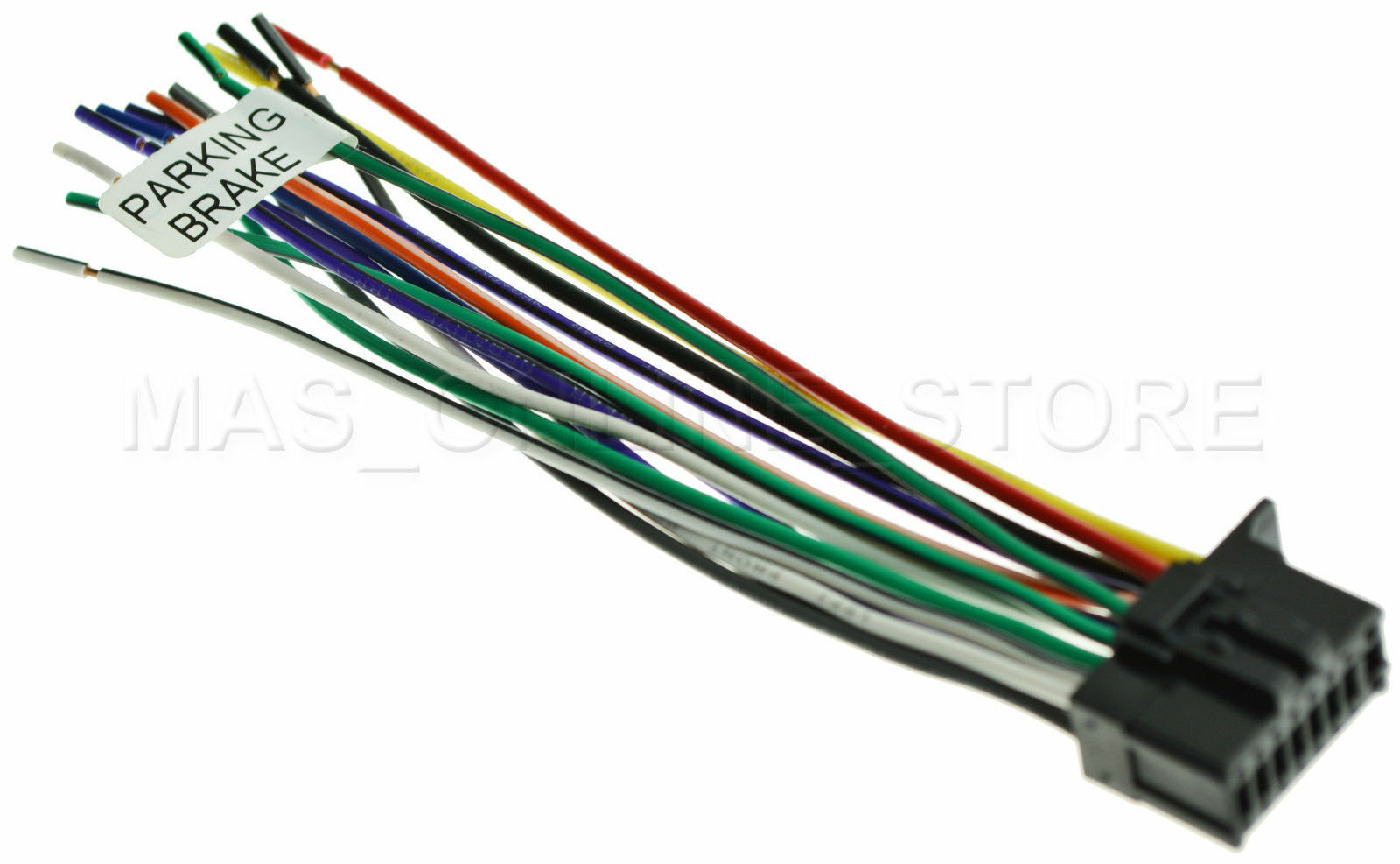 Wire Harness For Pioneer Avhx2700bs Avh X2700bs Pay Today Ships P4000dvd Bypass 1 Of 3free Shipping