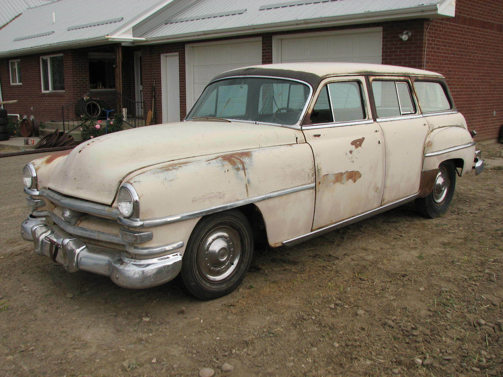 1953 Chrysler Windsor Town Country Station Wagon 1949 1950 1951 Dodge Panel Van 1 Of 12only Available
