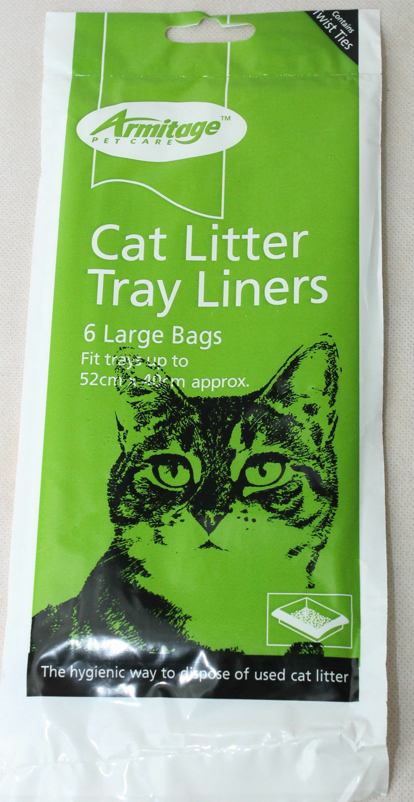 Armitage Cat Litter Tray Liners bags Large litter tray liners
