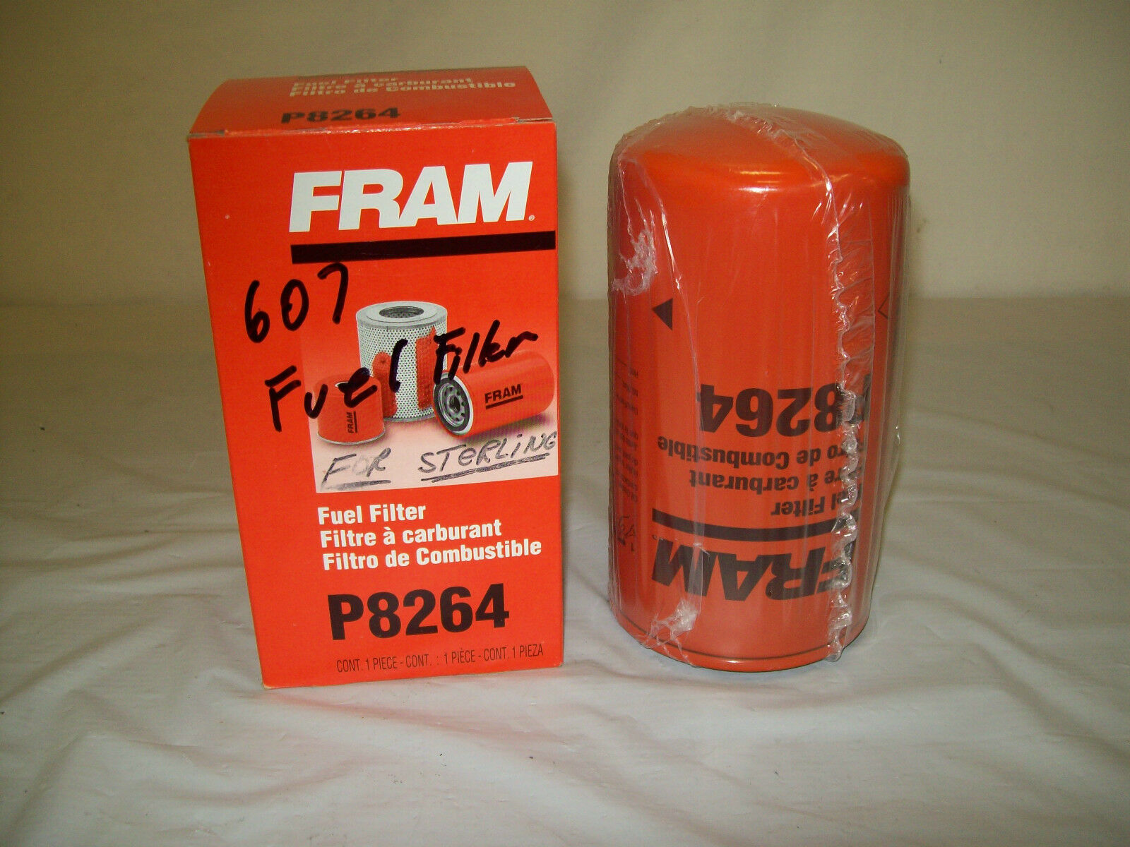 Fram Fuel Filter P 8264 Napa 3626 Wix 33626 2000 Picclick 1 Of 4only Available