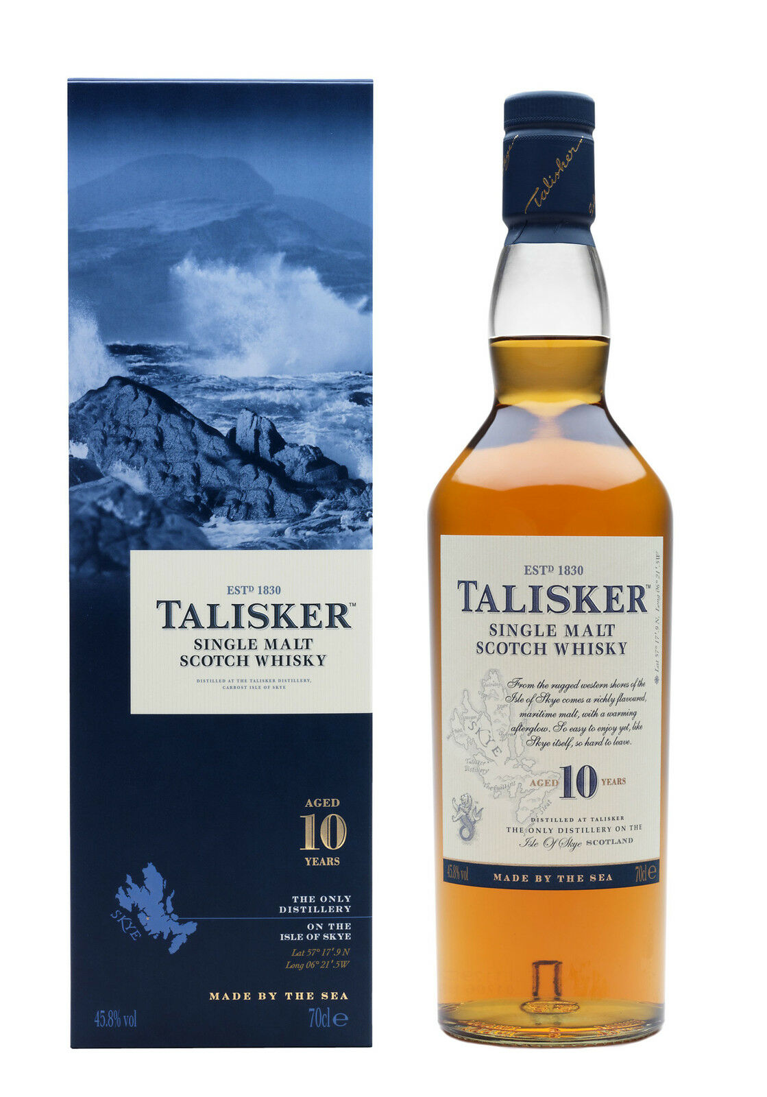 Talisker 10 Year Old Scotch Whisky 'whiskey' (700ml)