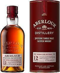 ABERLOUR 12 YEAR OLD  DOUBLE CASK MATURED 700ml