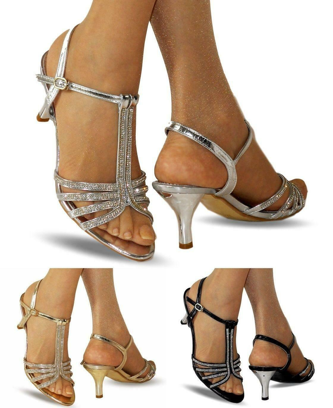 Kitten Heel Shoes With Ankle Strap