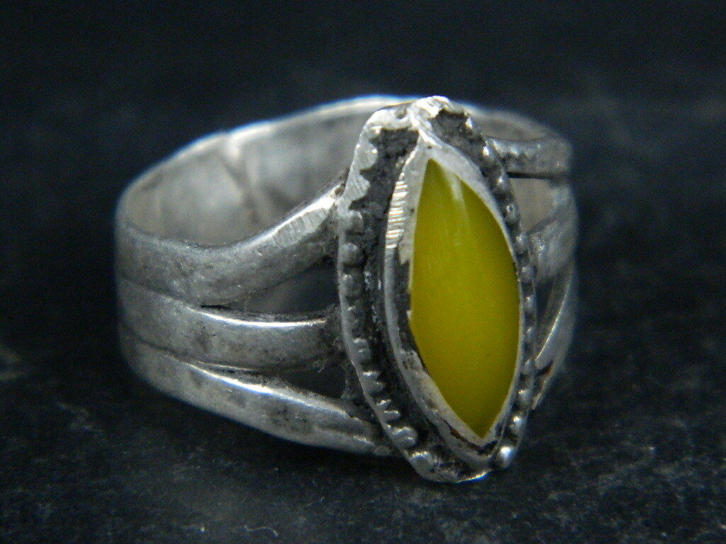 Ancient Silver ring With Stone 1900 AD ##AZ03##
