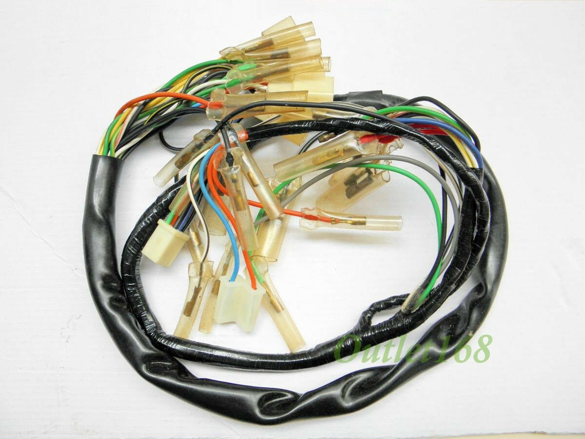 Suzuki T500 Wiring Loom Example Electrical Diagram Gt550 Gp 100 Gp100 Main Wire Harness Assembly Rh Picclick Com 1974 Gt500