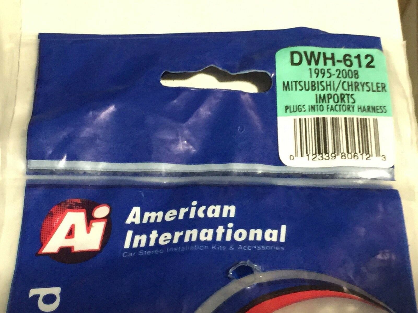 Dodge Mitsubishi Wiring Harness Adapter Plug For Aftermarket American International Like Us On Facebook Radio Dwh612 Ai 1 Of 4free Shipping