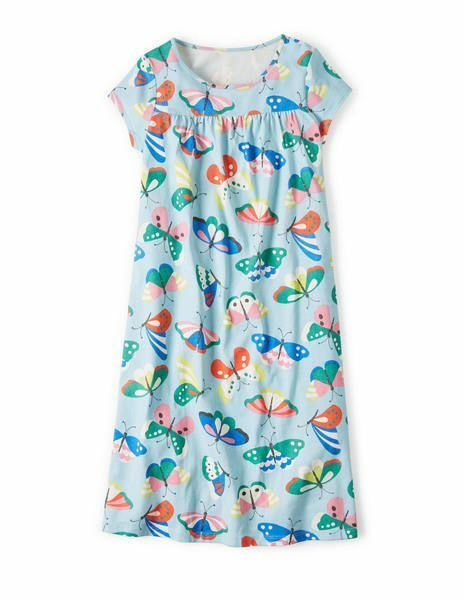 Gorgeous girls ex mini boden blue butterfly cotton for Mini boden germany