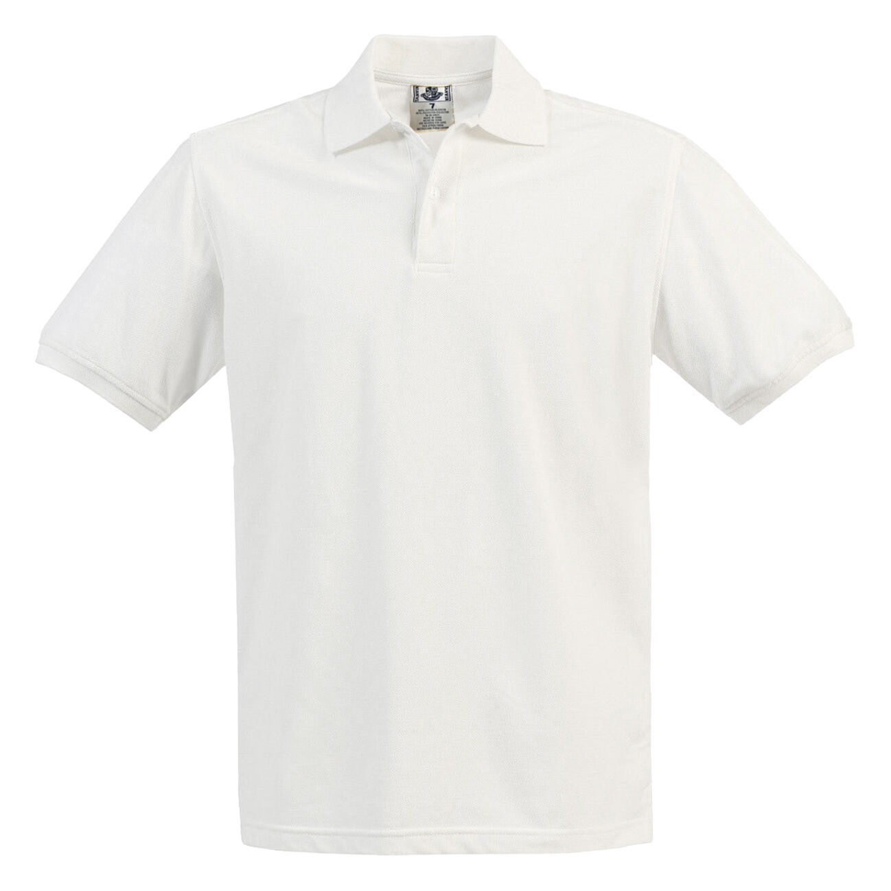 Boys Girls White Pique Polo Shirt School Uniform Short Sleeve