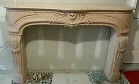 Historic Stone Fireplace Mantle