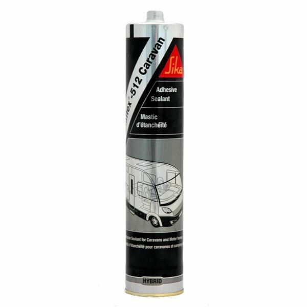 sika sikaflex 512 white caravan motorhome sealant bond very strong 300ml g439. Black Bedroom Furniture Sets. Home Design Ideas