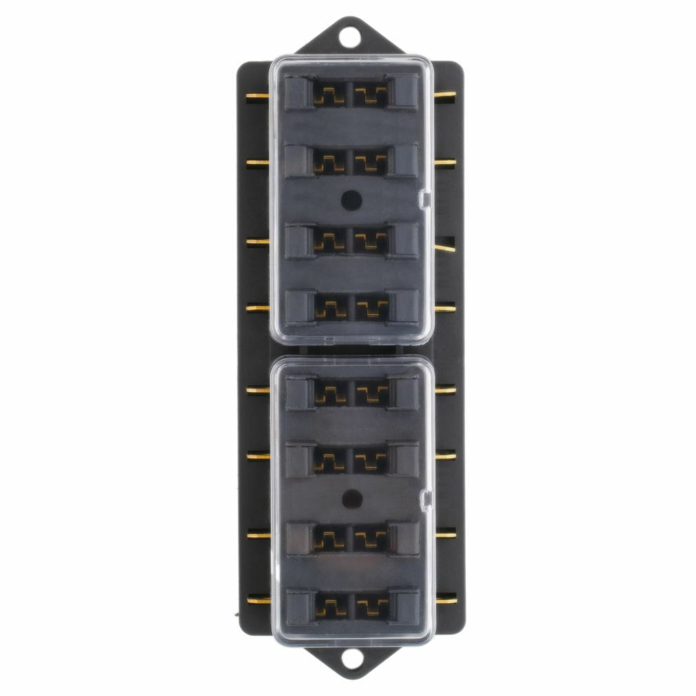 Fulseholder Mini 8 Way Blade Fuse Holder Block Box Audio Electronics 12v 1 X 4 Part Of 5only 5 Available