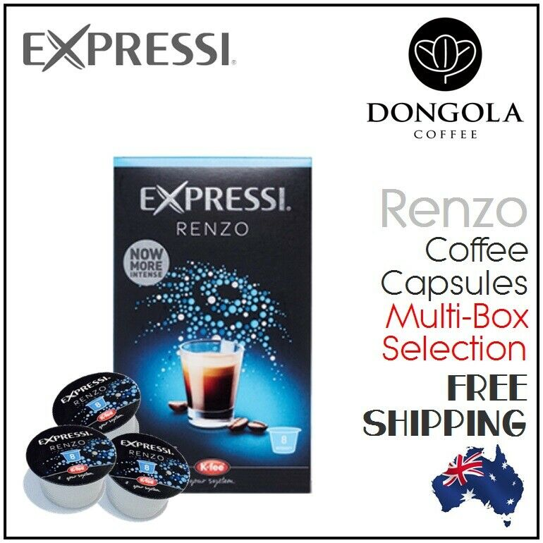 RENZO Expressi Capsules Pods for Automatic Espresso Coffee Machines K-Fee ALDI