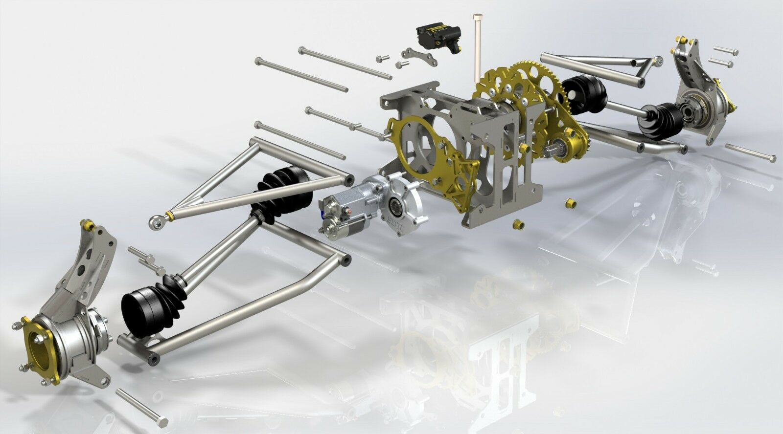 S1 Rear Suspension Plans Bike Powered Mini Dune Buggy